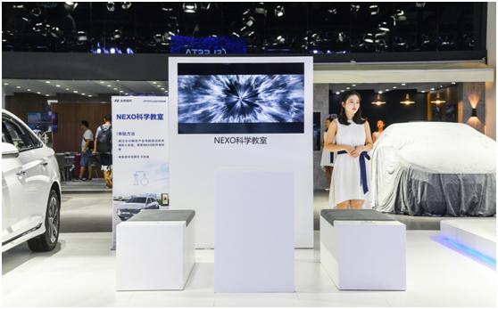 玩氢耍酷 北京现代全明星科技阵容领潮成都车展
