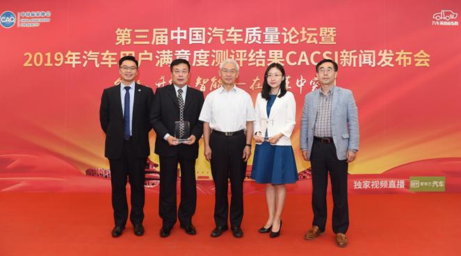 2019 CACSI测评结果出炉 北京现代荣膺多项第一