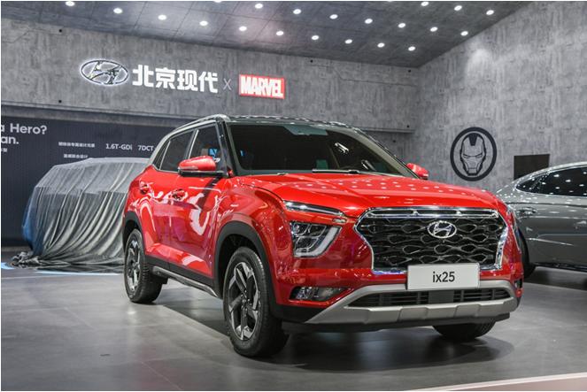 10.5萬起,北京現代新一代ix25本月底上市