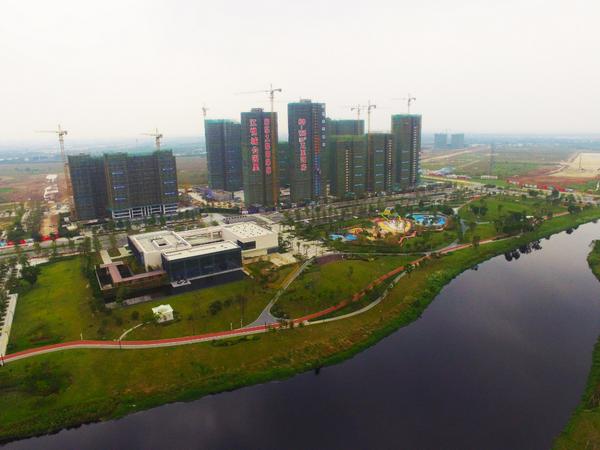 江悦城公园里,融入先进的规划理念,打造幸福社区,为美好而来