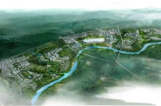 江悦城公园里,打造以生态优先的海绵城市,为美好而来