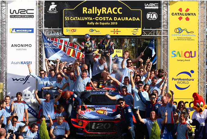 現代車隊首獲WRC綜合冠軍 北京現代延續高性能實力